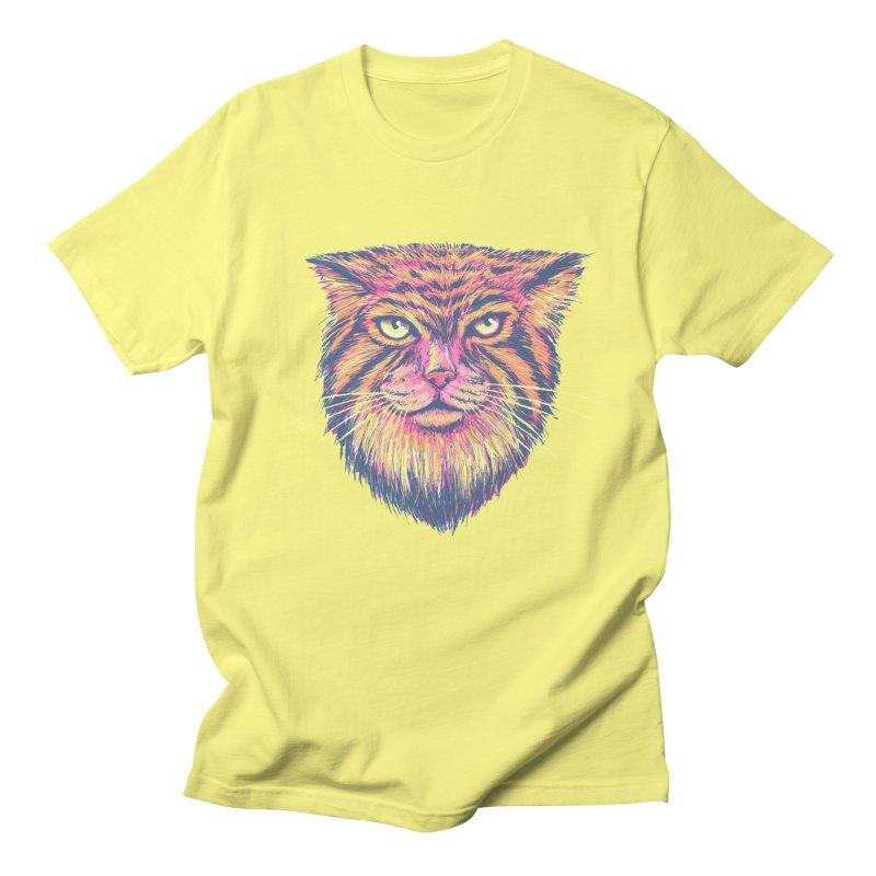 Pallas Cat Men's T-Shirt by Jason Castillo Illustration