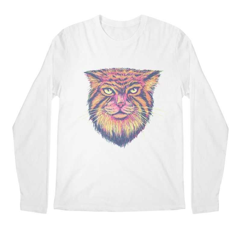 Pallas Cat Men's Longsleeve T-Shirt by Jason Castillo Illustration
