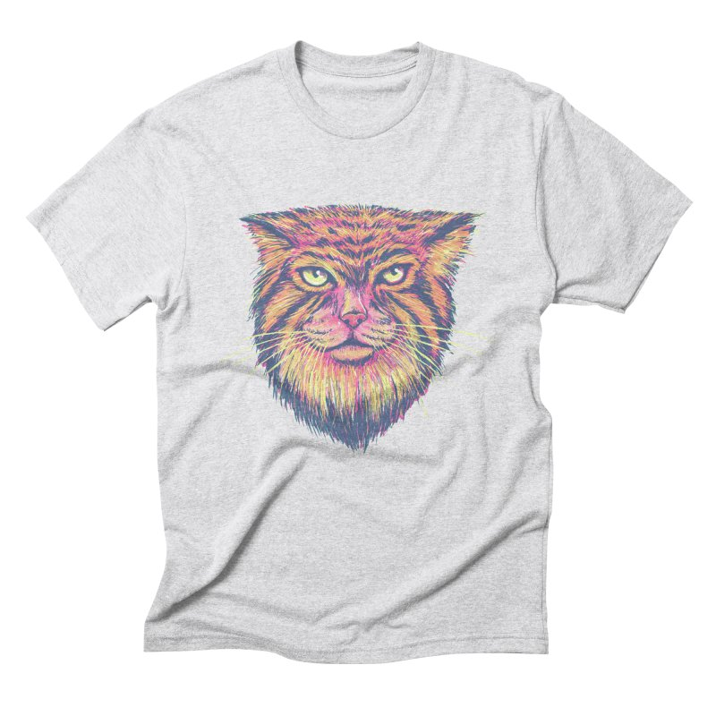 Pallas Cat Men's Triblend T-Shirt by Jason Castillo Illustration