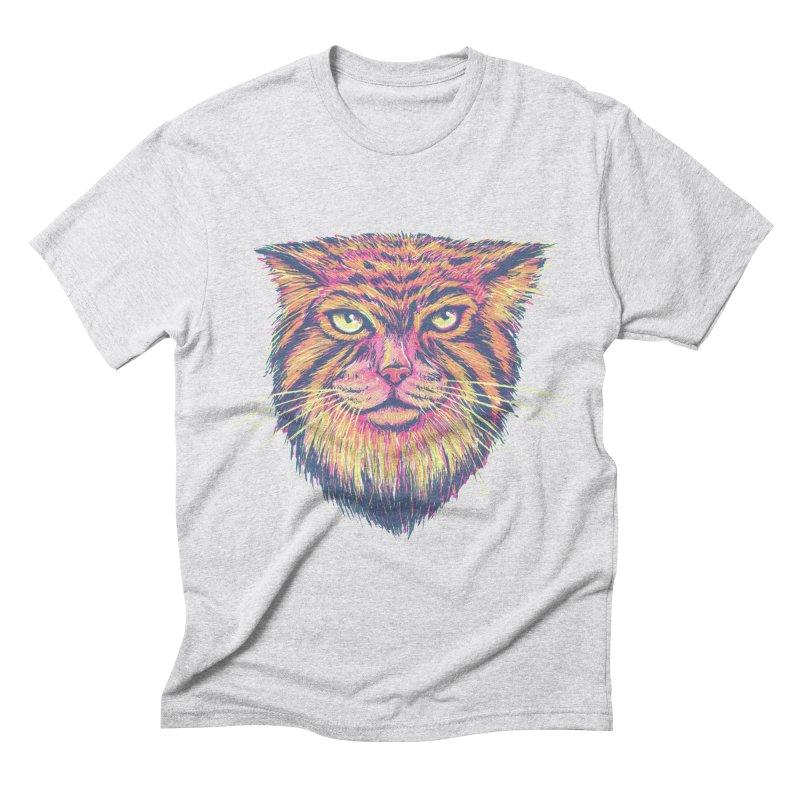 Pallas Cat Men's Triblend T-shirt by Jason Castillo Illustration