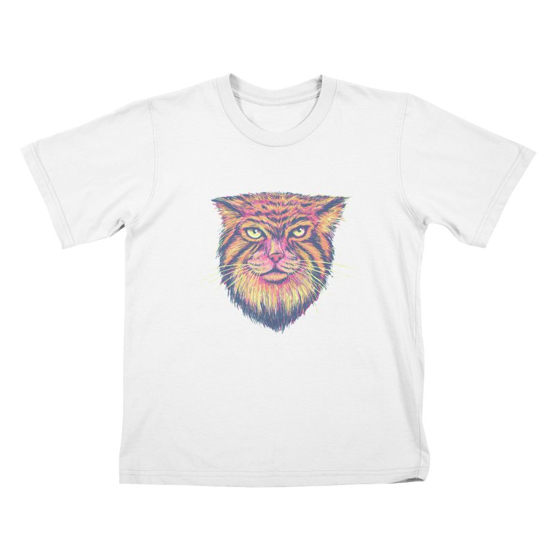 Pallas Cat Kids T-Shirt by Jason Castillo Illustration