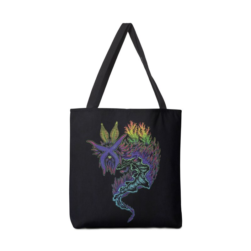 Sea Slug Shaman Accessories Bag by Jason Castillo Illustration