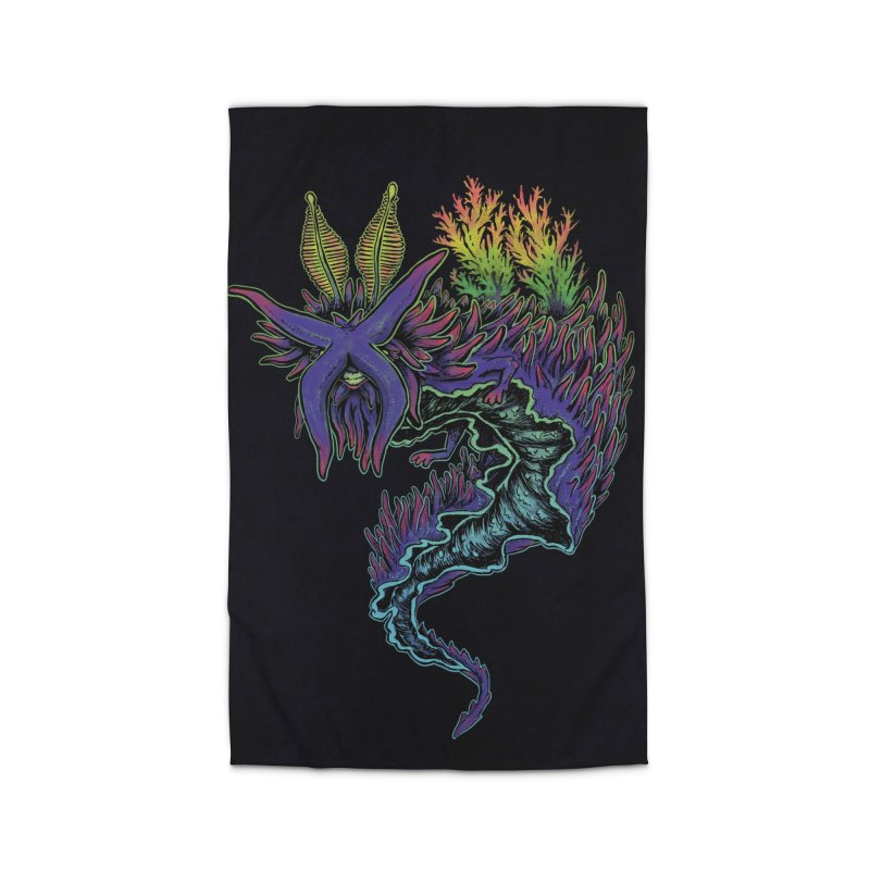 Sea Slug Shaman Home Rug by Jason Castillo Illustration