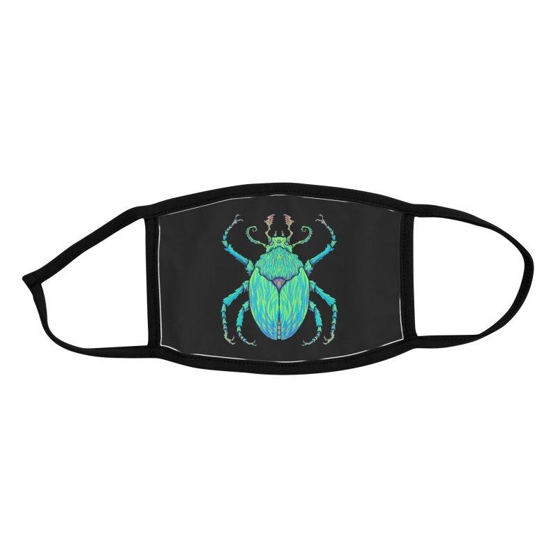 Unkown Species 2 Accessories Face Mask by Jason Castillo Illustration