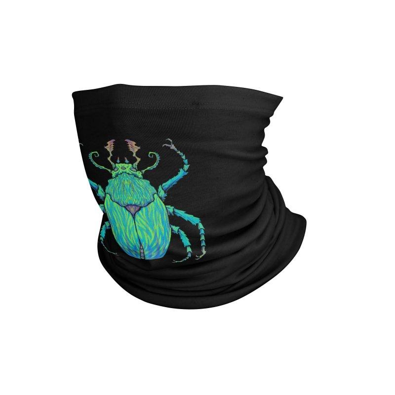 Unkown Species 2 Accessories Neck Gaiter by Jason Castillo Illustration