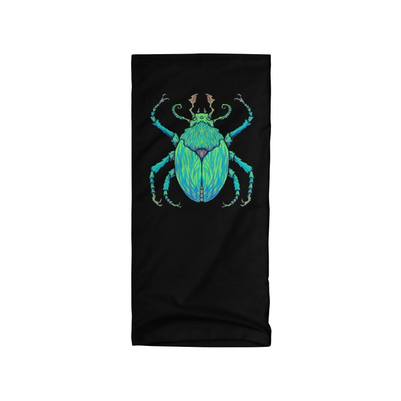 Unkown Species 2 Accessories Neck Gaiter by Jason Castillo Illustration