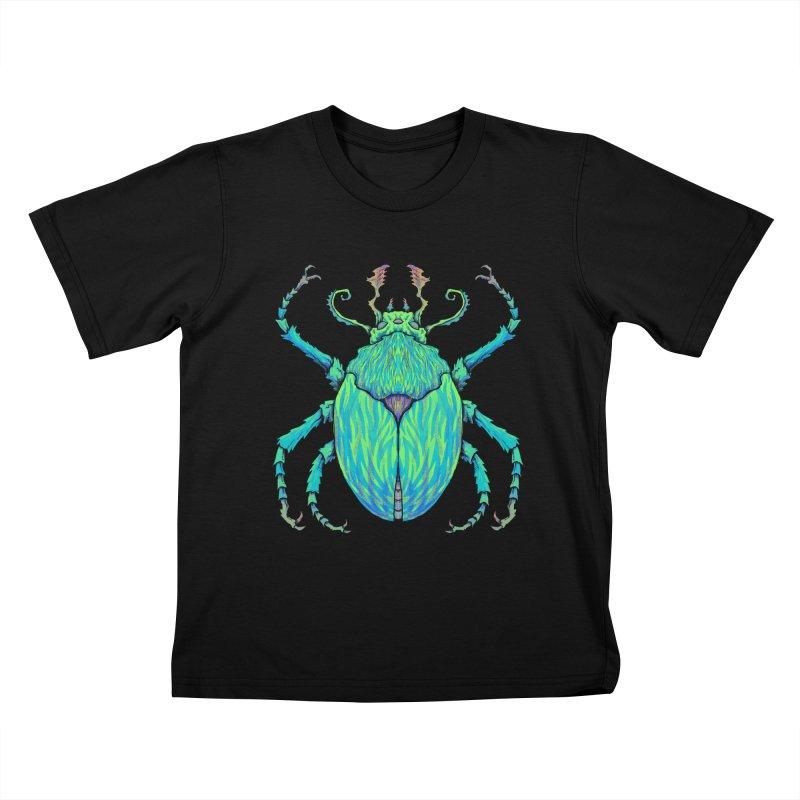 Unkown Species 2 Kids T-Shirt by Jason Castillo Illustration