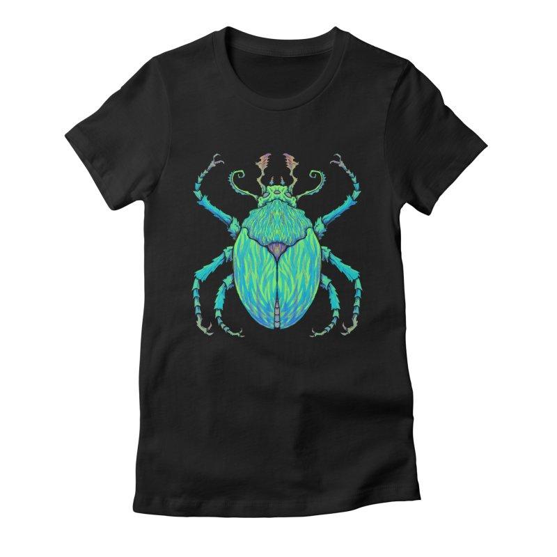 Unkown Species 2 Women's T-Shirt by Jason Castillo Illustration