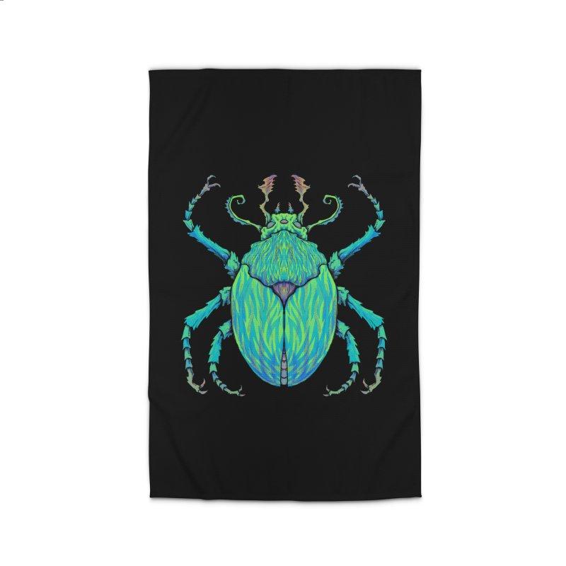 Unkown Species 2 Home Rug by Jason Castillo Illustration