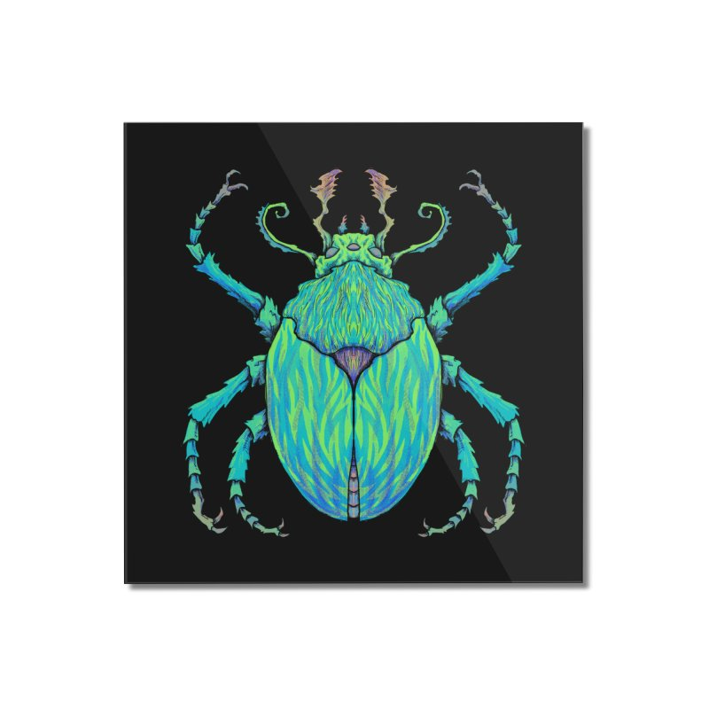 Unkown Species 2 Home Mounted Acrylic Print by Jason Castillo Illustration