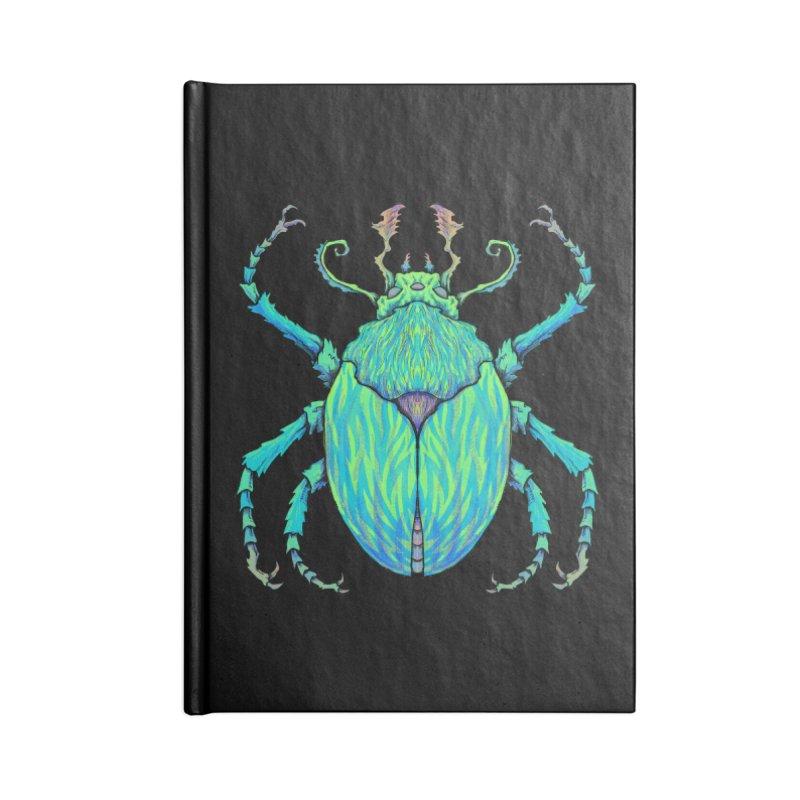 Unkown Species 2 Accessories Notebook by Jason Castillo Illustration