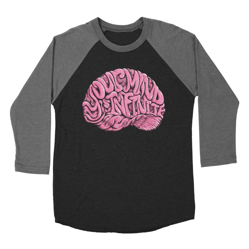 Your Mind is Infinite Women's Baseball Triblend T-Shirt by Jason Castillo Illustration