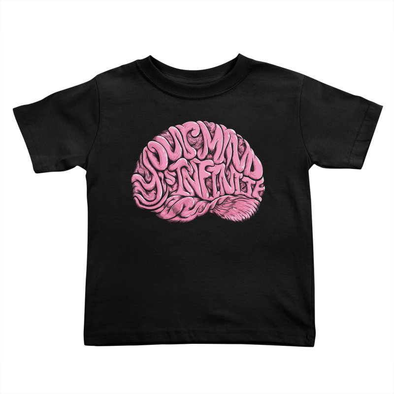 Your Mind is Infinite Kids Toddler T-Shirt by Jason Castillo Illustration