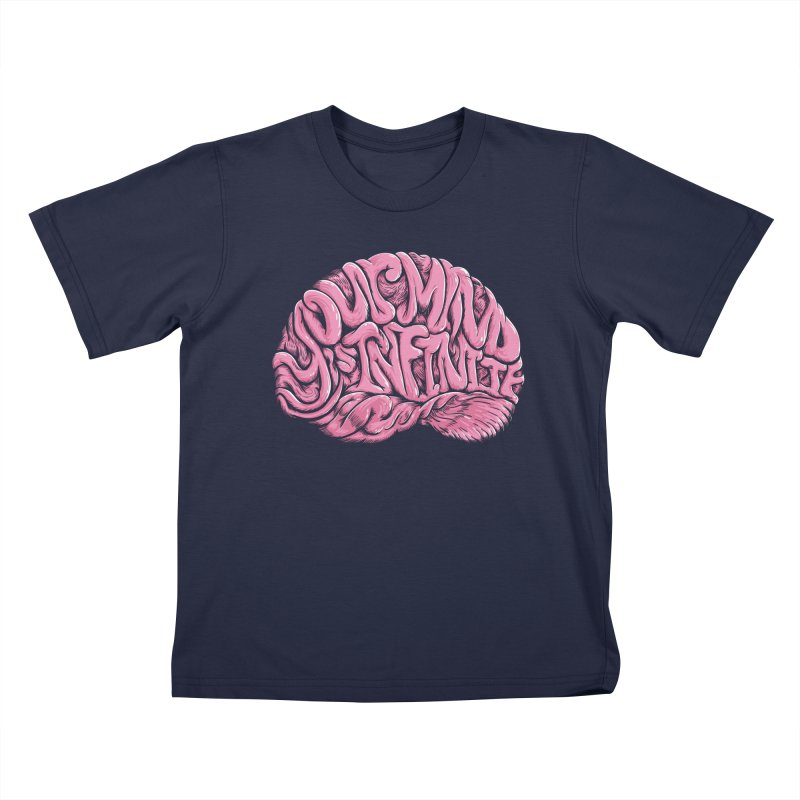 Your Mind is Infinite Kids T-Shirt by Jason Castillo Illustration