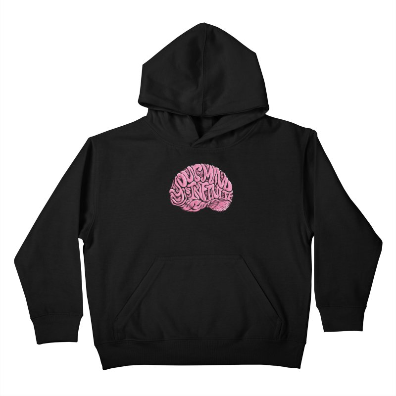 Your Mind is Infinite Kids Pullover Hoody by Jason Castillo Illustration