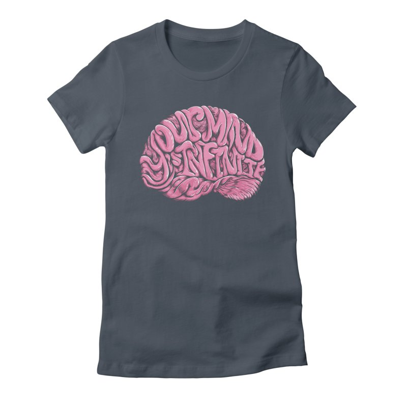 Your Mind is Infinite Women's T-Shirt by Jason Castillo Illustration