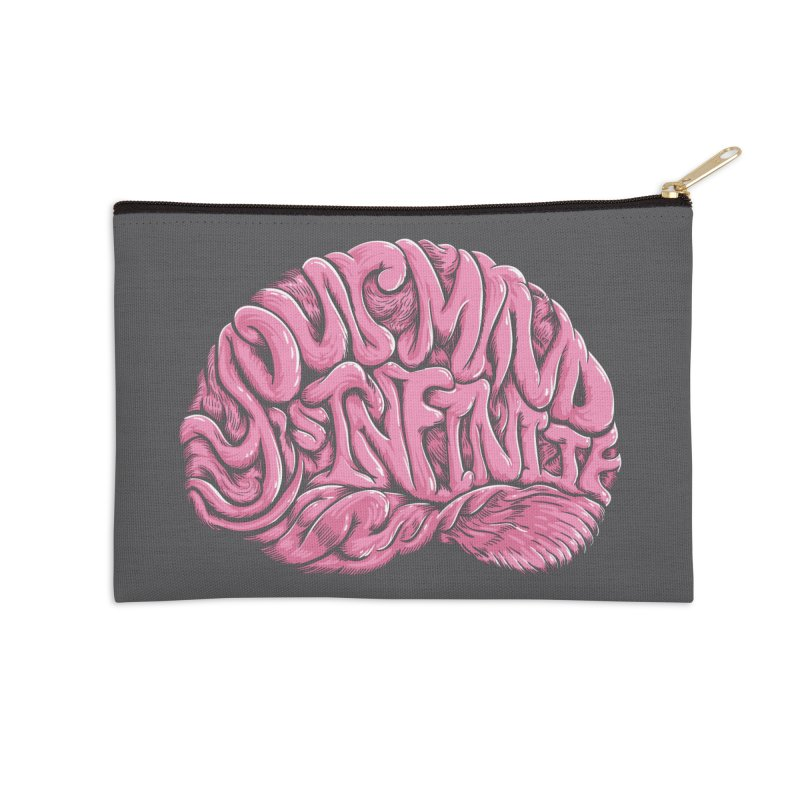 Your Mind is Infinite Accessories Zip Pouch by Jason Castillo Illustration