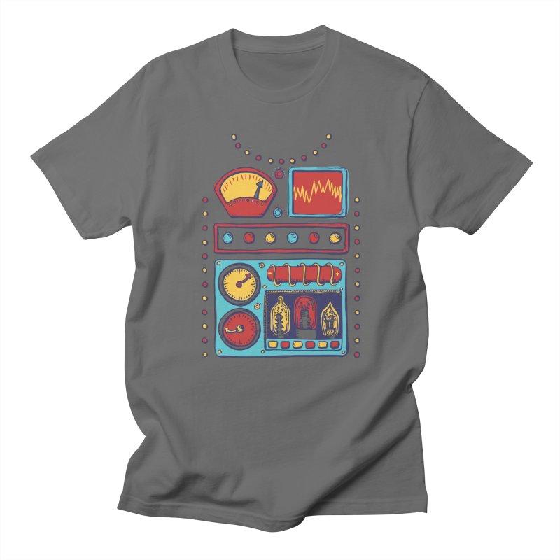 Retrobot 2000 Men's T-Shirt by Jason Castillo Illustration