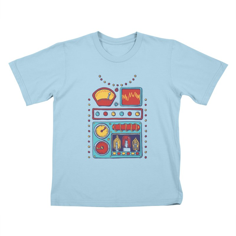 Retrobot 2000 Kids T-Shirt by Jason Castillo Illustration
