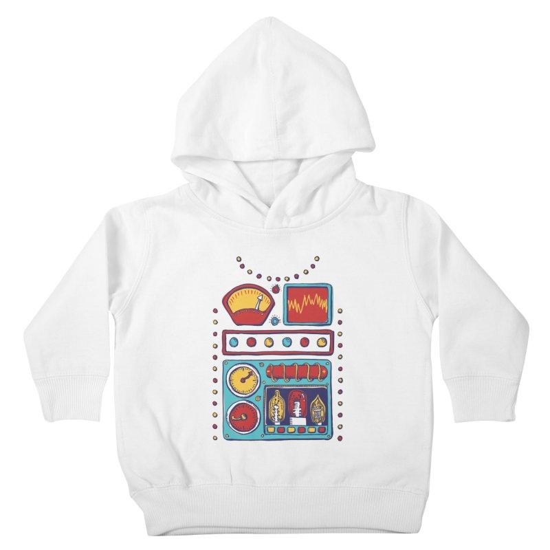 Retrobot 2000 Kids Toddler Pullover Hoody by Jason Castillo Illustration