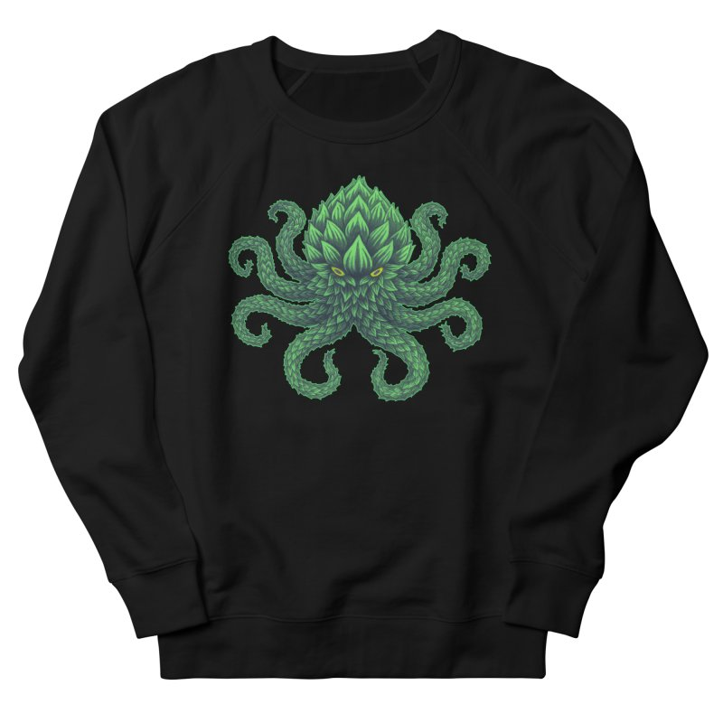 Hoptopus Men's French Terry Sweatshirt by Jason Castillo Illustration