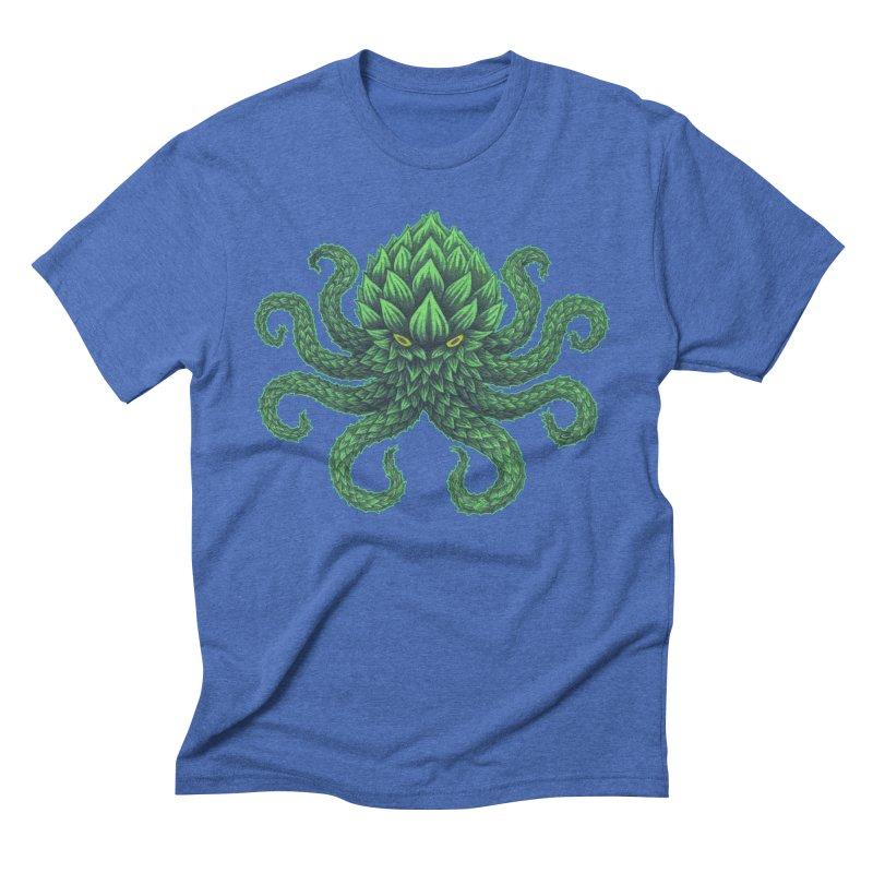 Hoptopus Men's Triblend T-shirt by Jason Castillo Illustration
