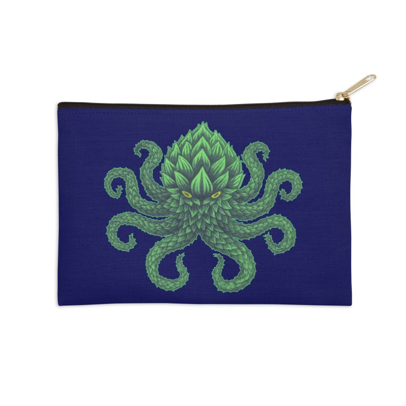 Hoptopus Accessories Zip Pouch by Jason Castillo Illustration