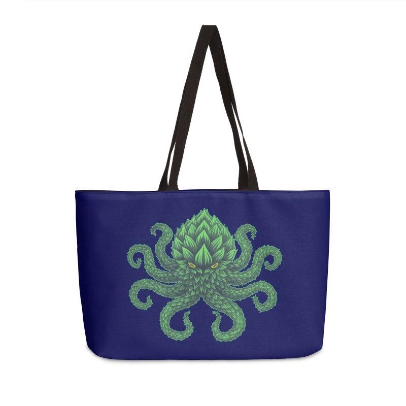 Hoptopus Accessories Weekender Bag Bag by Jason Castillo Illustration
