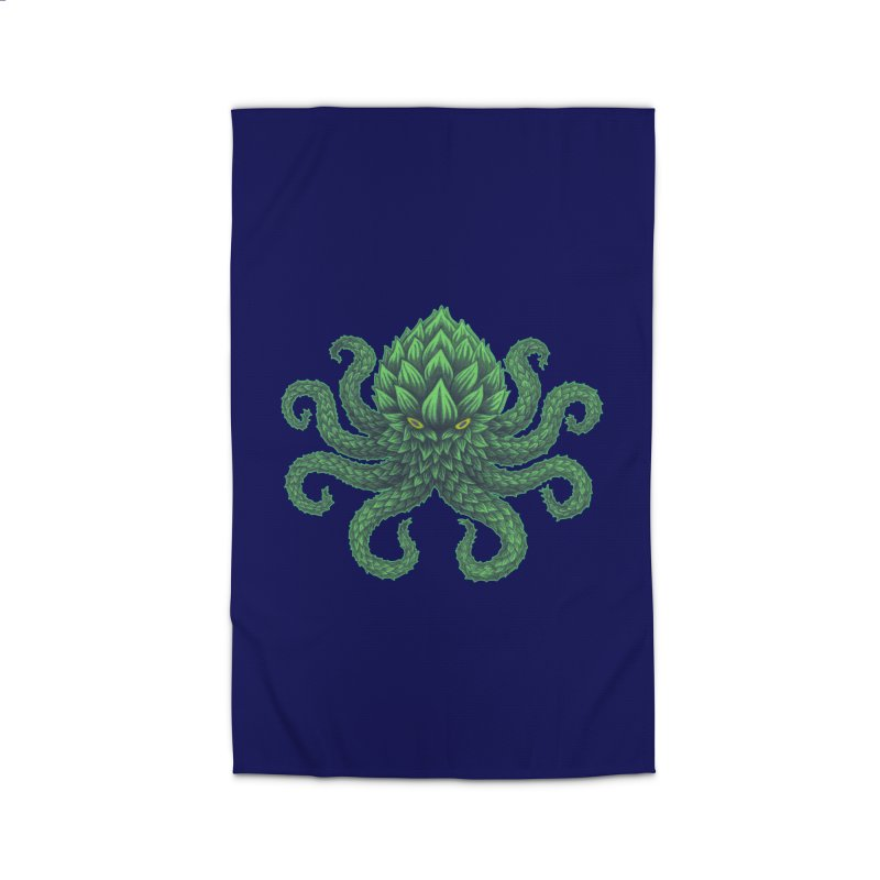 Hoptopus Home Rug by Jason Castillo Illustration