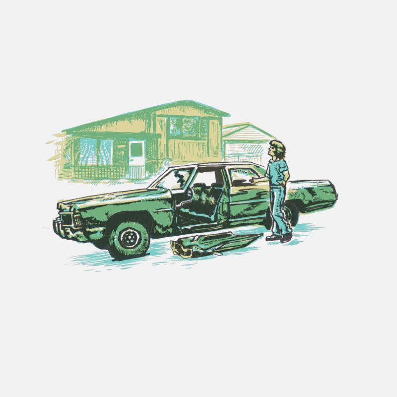 That Old Car None  by Jason Castillo Illustration