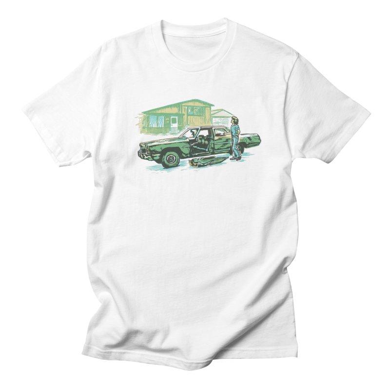 That Old Car Men's T-shirt by Jason Castillo Illustration