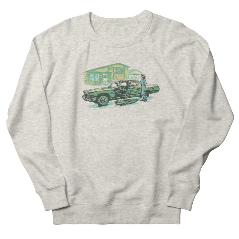 That Old Car Women's Sweatshirt by Jason Castillo Illustration