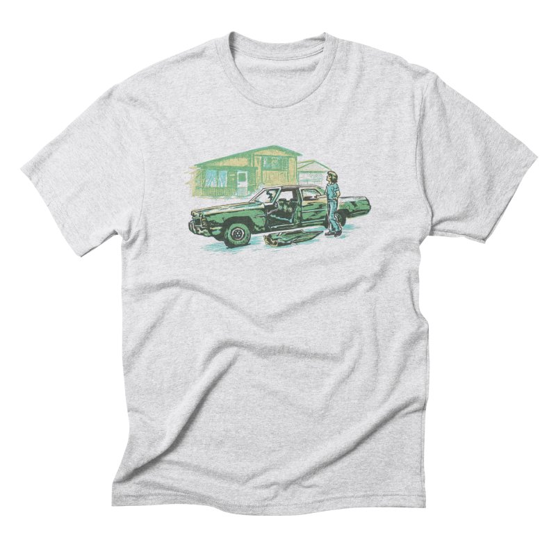 That Old Car Men's Triblend T-Shirt by Jason Castillo Illustration