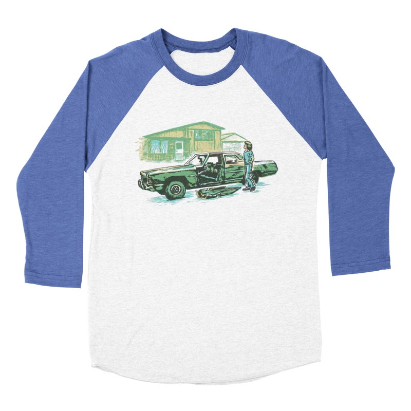 That Old Car Men's Baseball Triblend T-Shirt by Jason Castillo Illustration