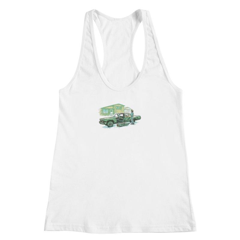 That Old Car Women's Racerback Tank by Jason Castillo Illustration