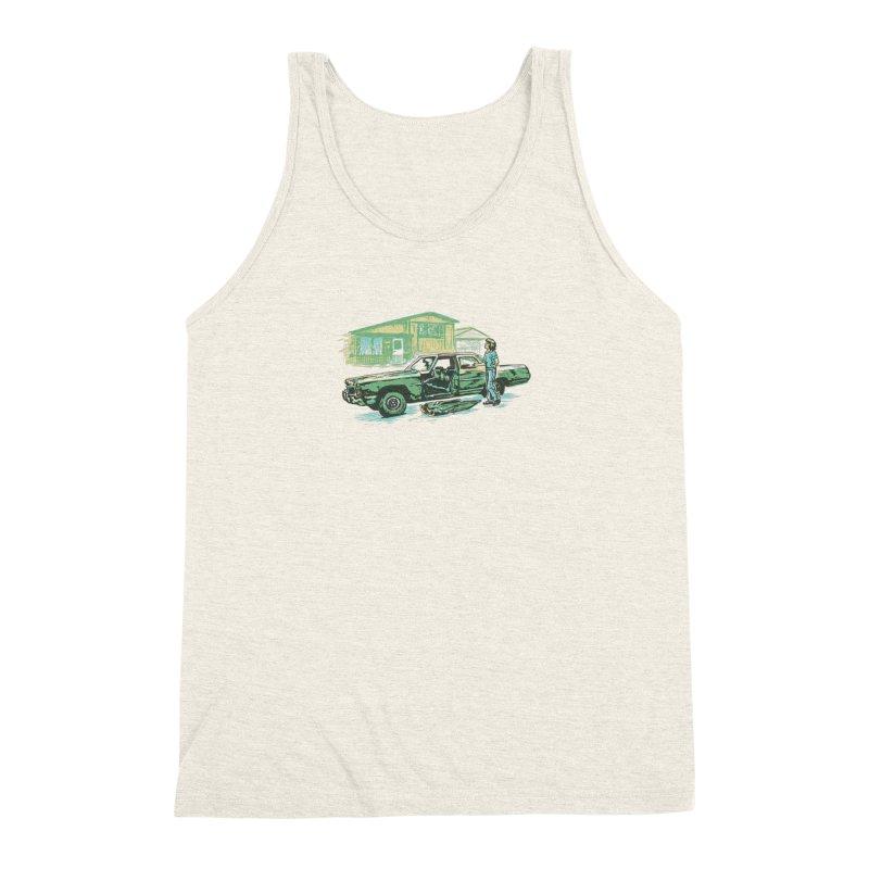 That Old Car Men's Triblend Tank by Jason Castillo Illustration