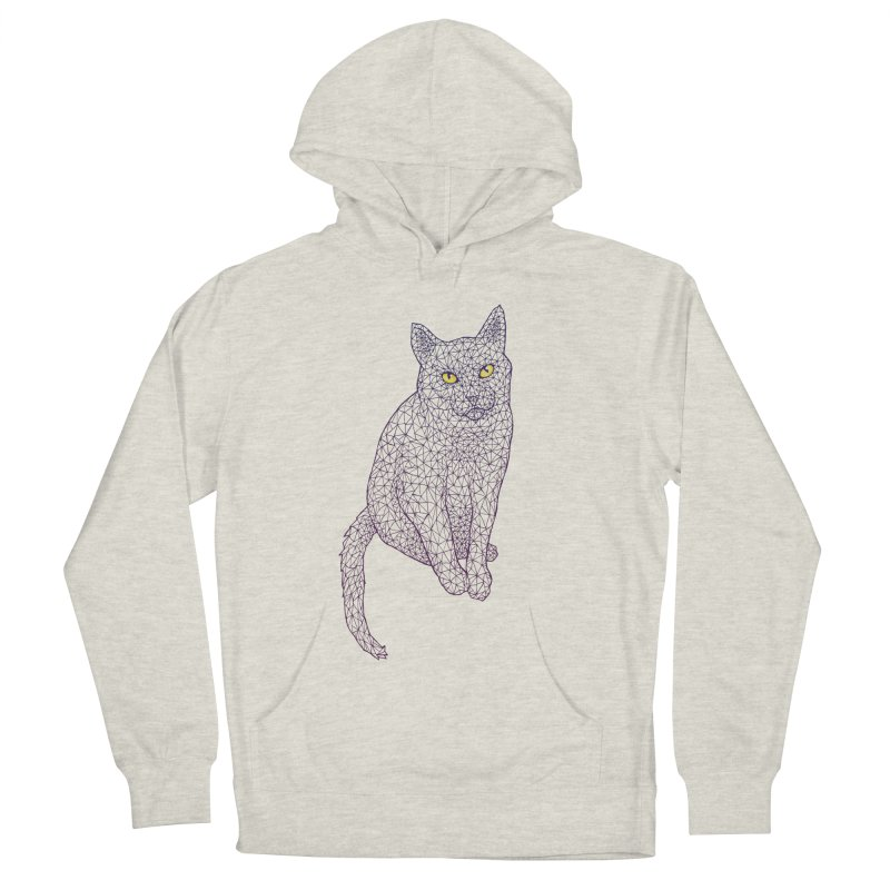 Polycat Women's French Terry Pullover Hoody by Jason Castillo Illustration