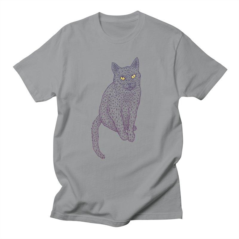 Polycat Men's T-shirt by Jason Castillo Illustration