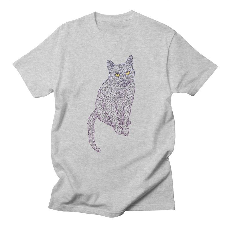Polycat Men's Regular T-Shirt by Jason Castillo Illustration