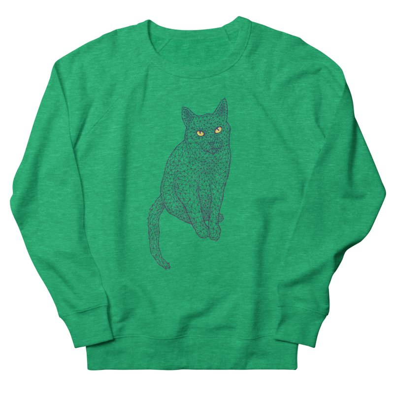 Polycat Women's Sweatshirt by Jason Castillo Illustration