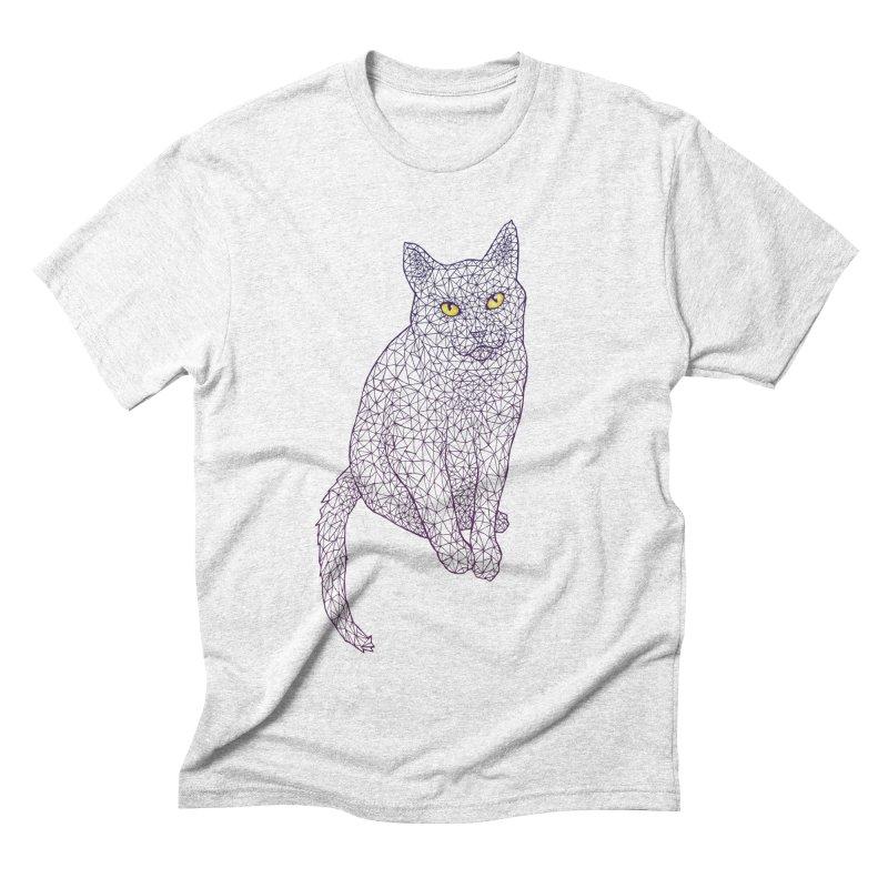 Polycat Men's Triblend T-shirt by Jason Castillo Illustration