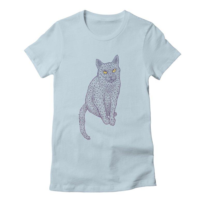 Polycat Women's T-Shirt by Jason Castillo Illustration