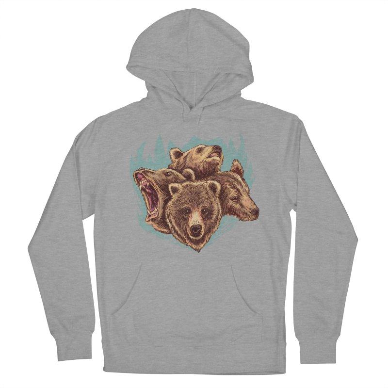 Four Bears Men's Pullover Hoody by Jason Castillo Illustration