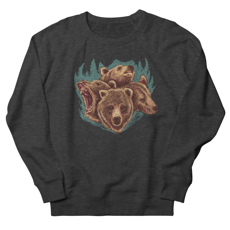 Four Bears Men's Sweatshirt by Jason Castillo Illustration