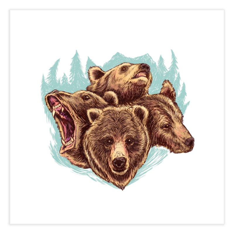 Four Bears   by Jason Castillo Illustration