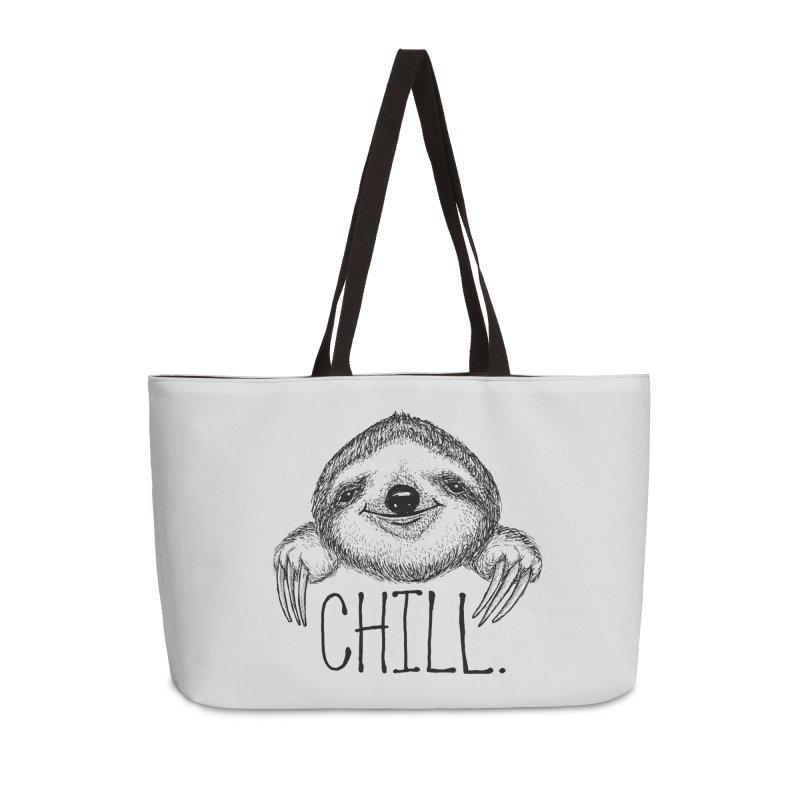 Chillsloth Accessories Weekender Bag Bag by Jason Castillo Illustration