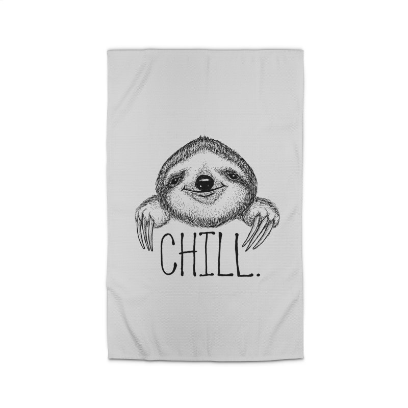 Chillsloth Home Rug by Jason Castillo Illustration