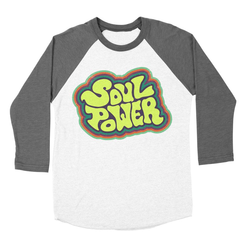 Soul Power Women's Longsleeve T-Shirt by Jason Castillo Illustration