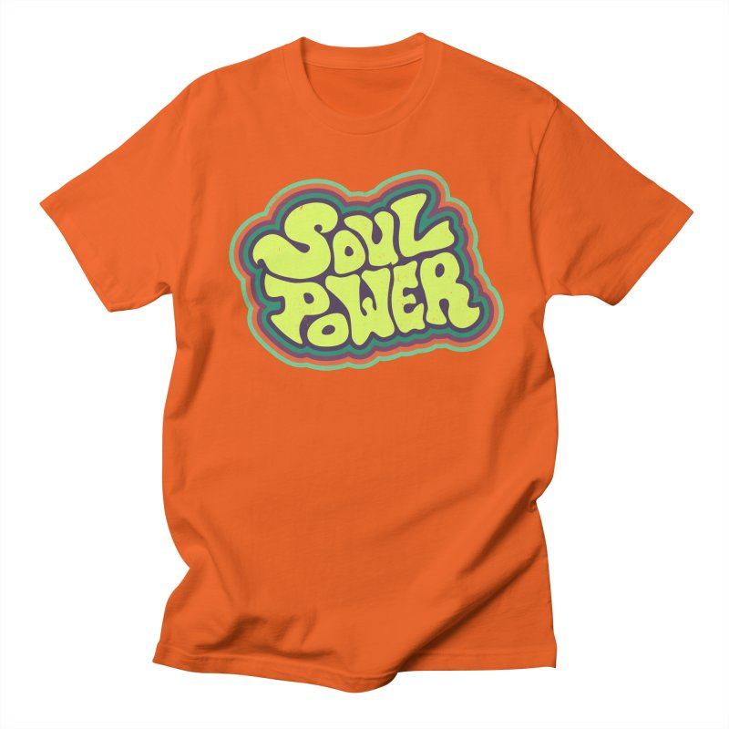 Soul Power Men's T-shirt by Jason Castillo Illustration