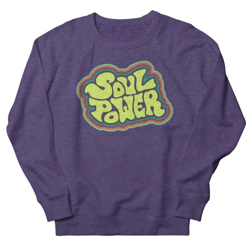 Soul Power Women's Sweatshirt by Jason Castillo Illustration